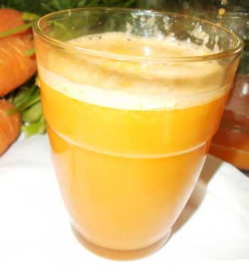 carrot, apple, ginger juice recipe