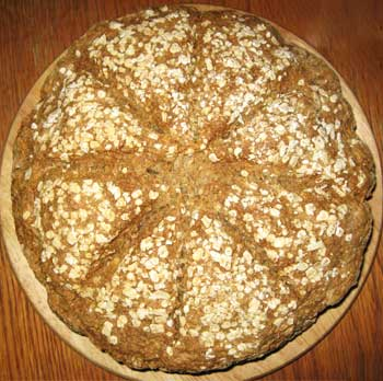 oatmeal whole wheat bread