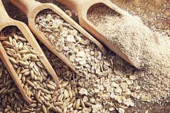 Oats, groats, oat flakes