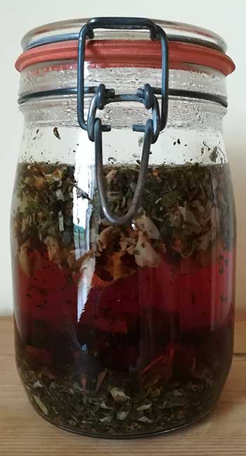 overnight herbal infusion