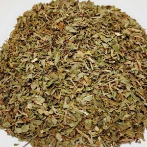 loose peppermint leaf